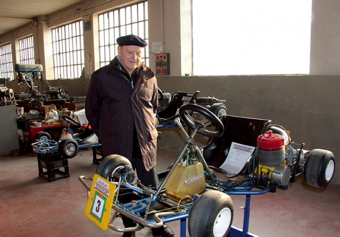 "Farewell ""Tony"" Bosio, Mr. Tony Kart"