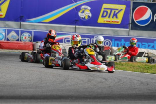 A NEW KARTING RACING SEASON OFFICIALLY KICK OFF AT CIRCUITO INTERNAZIONALE NAPOLI, SARNO'S TRACK (ITALY).