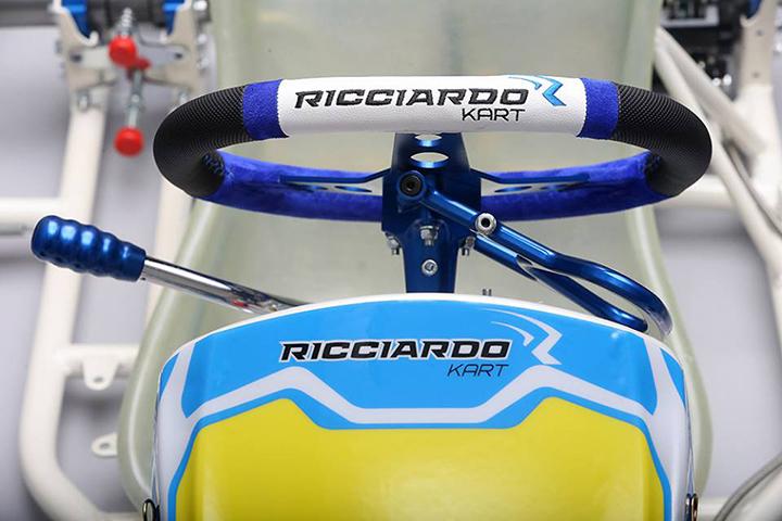 Ricciardo Kart ready to take the track