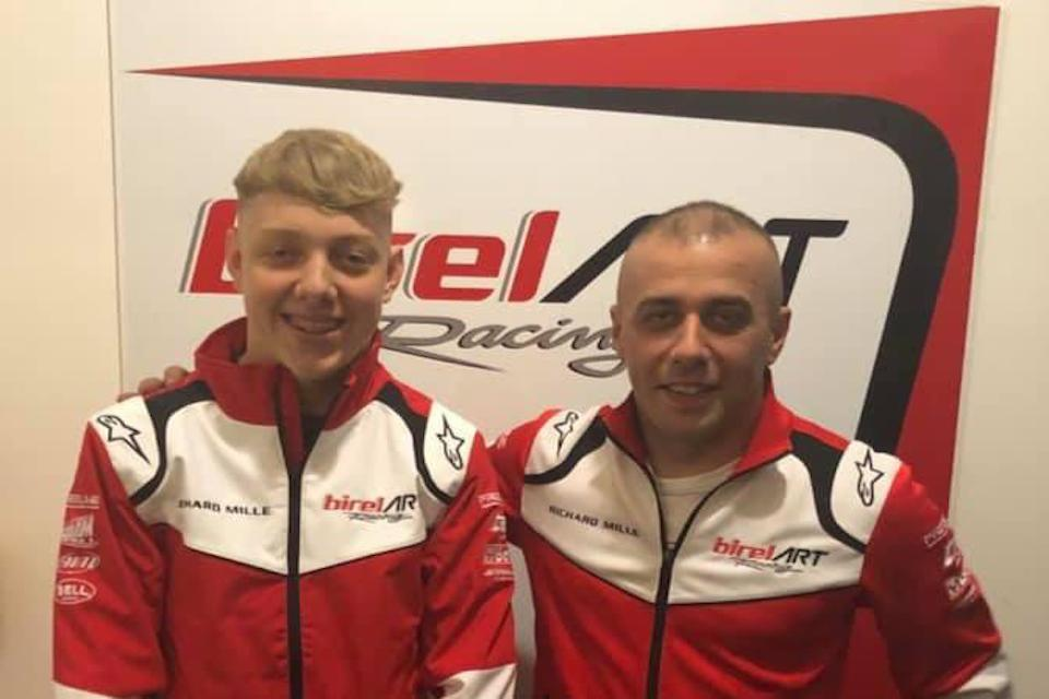 Clayton Ravenscroft with Birel ART for 2020 season