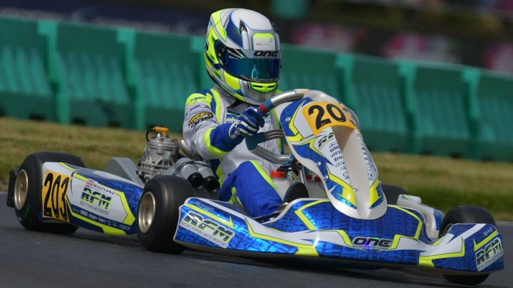 CIK FIA - Zak O'Sullivan, «I want to get the most out of the last part of the season.»