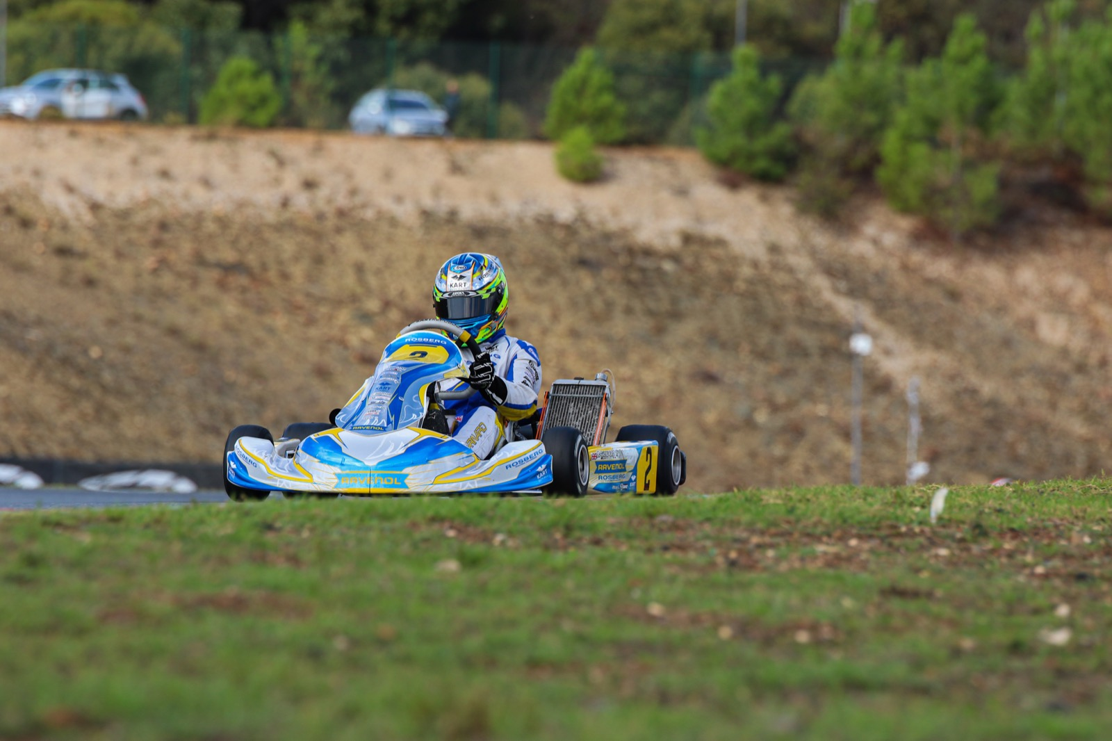 FIA Karting World Championship, Portimao - Barnard and Ho in advantage