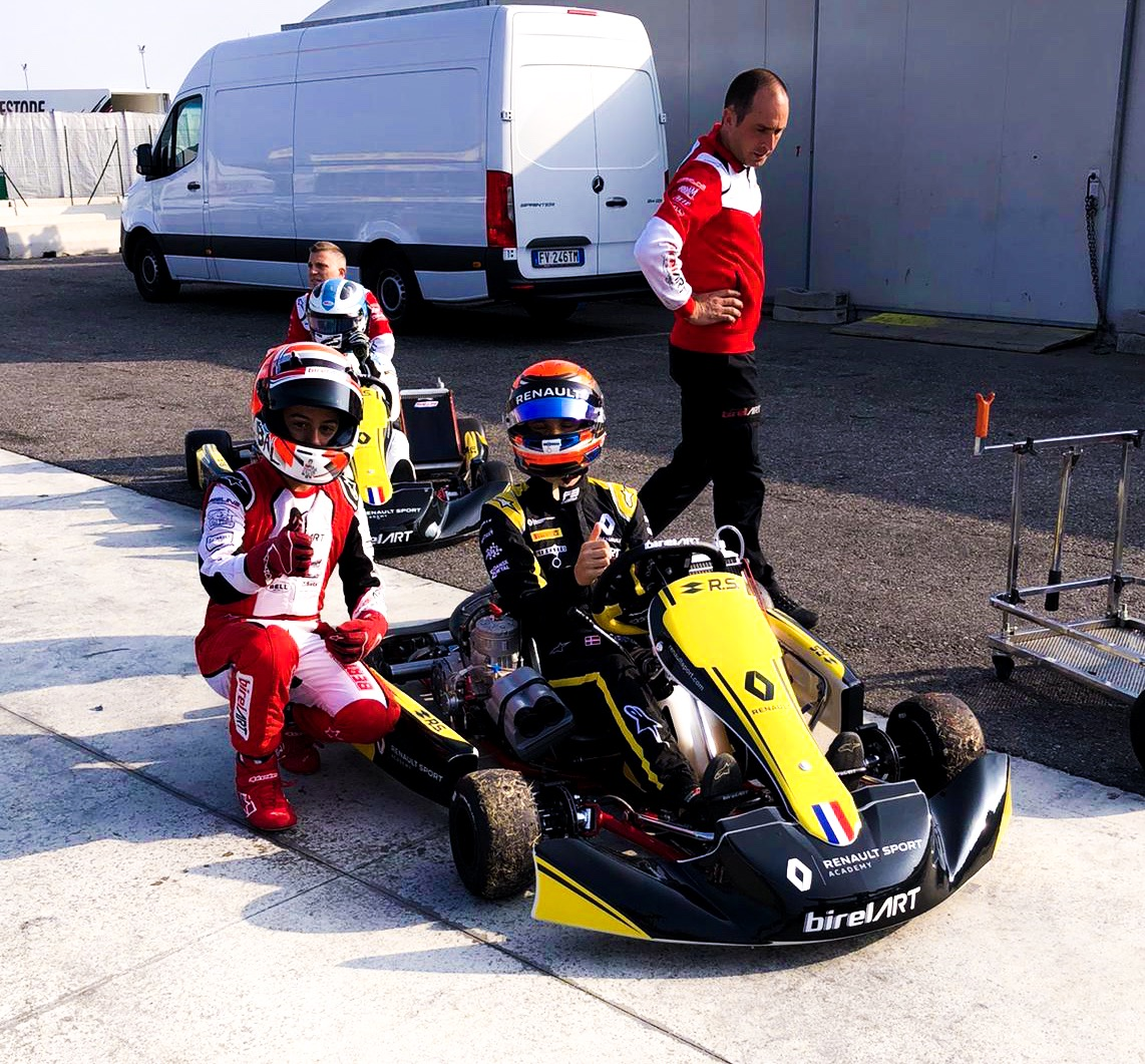 Fewtrell and Lundgaard on track with Birel ART and Renault