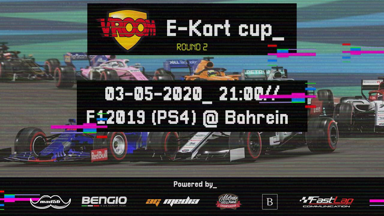 "Vroom e-Kart Cup, back ""on track""!"