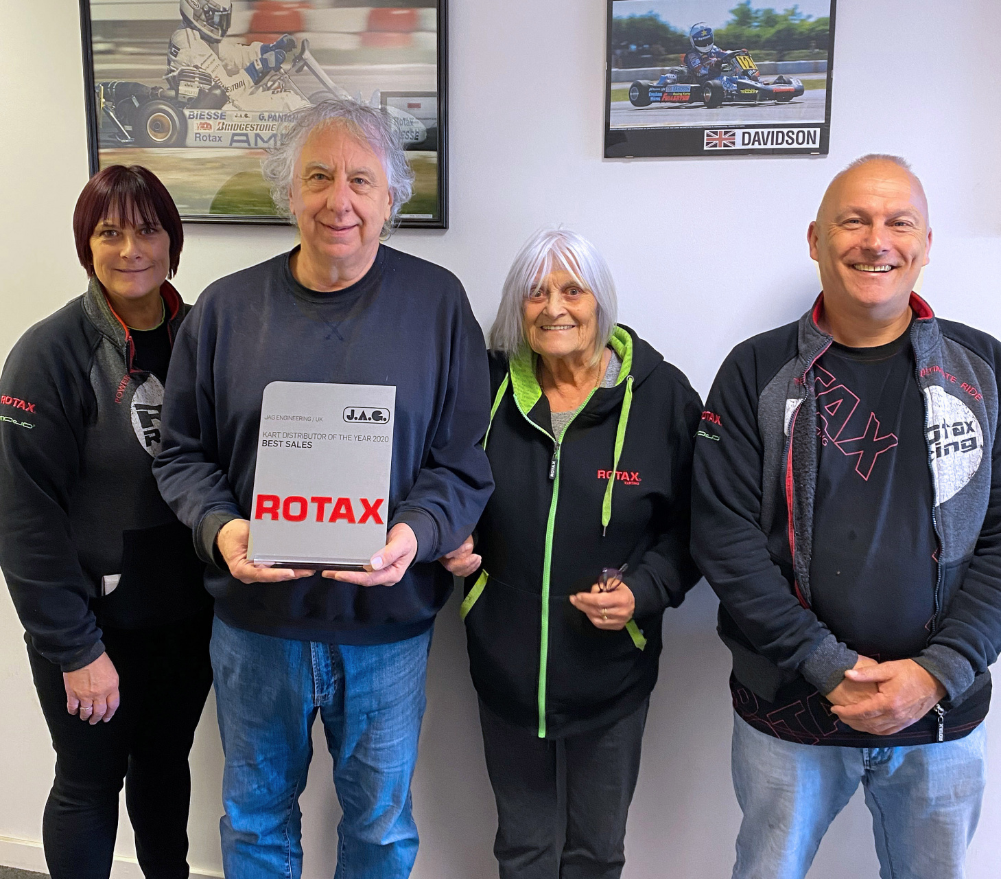 Celebrating exceptional performance - Rotax distributor of the year 2020