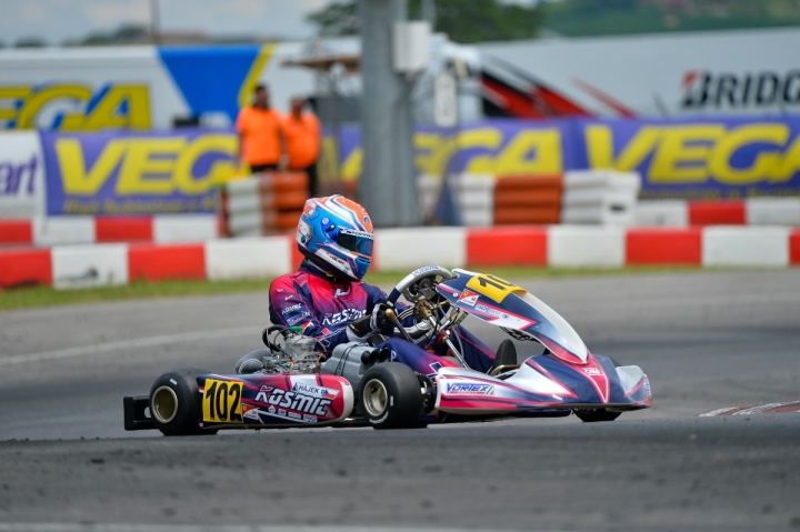 The Kosmic Racing Department at Lonato for the final act of the KZ and KZ2 European Championship