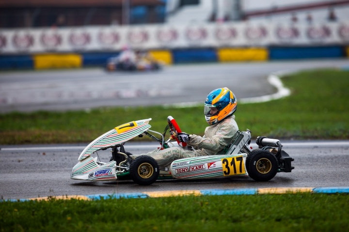 Laurens van Hoepen ready for the last act of the WSK Final Cup