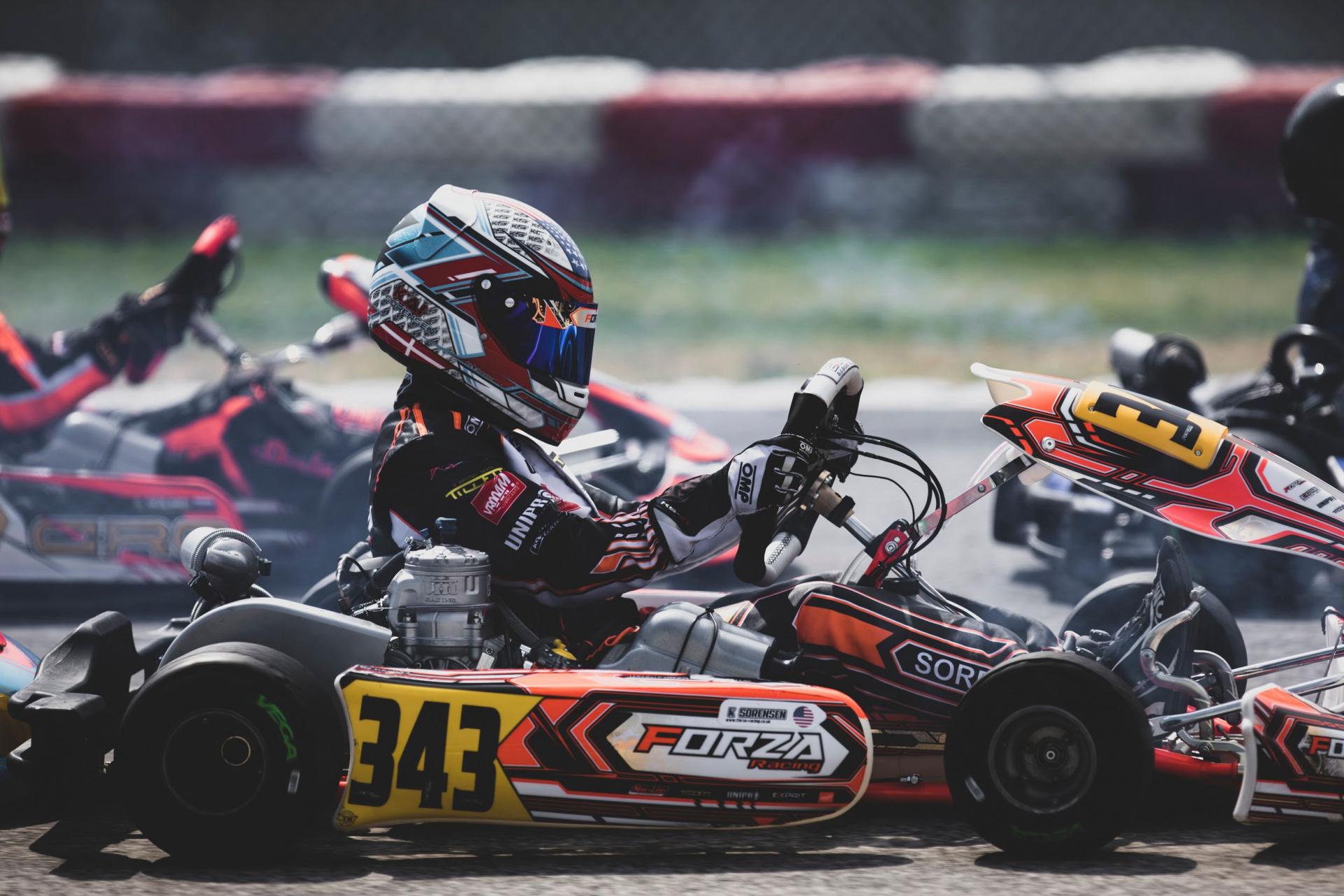 Kai Sorensen competitive at Adria despite the epilogue