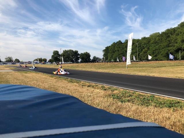 CIK FIA European Champ, Essay - Saturday report