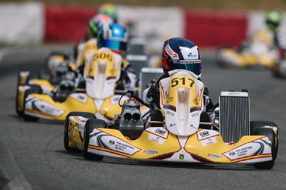 Solid weekend for Maciej Gladysz in the first round of the FIA Academy Trophy