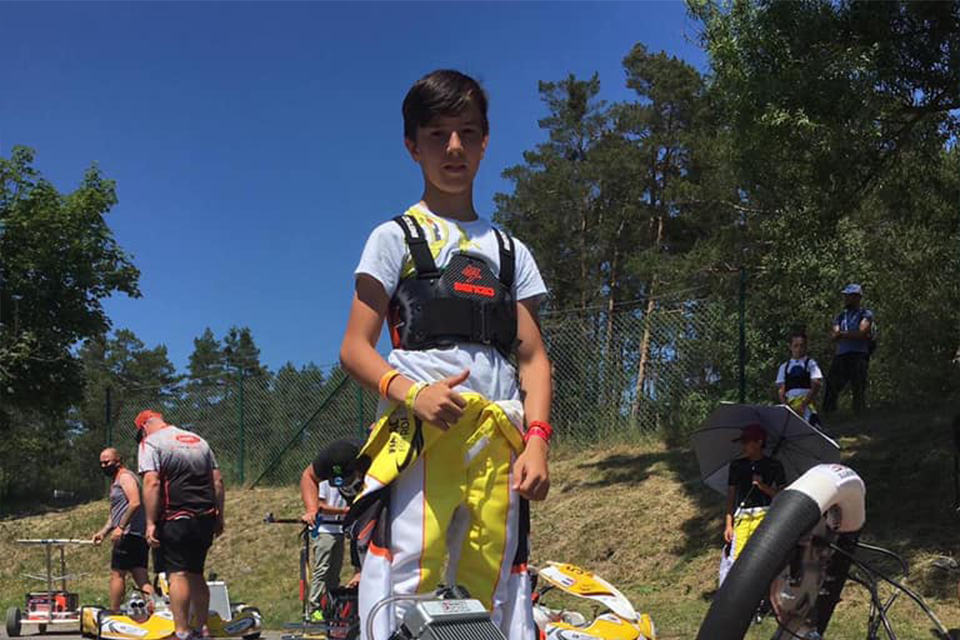 Mark Kastelic returns to Italy for the second round of the FIA Academy Trophy