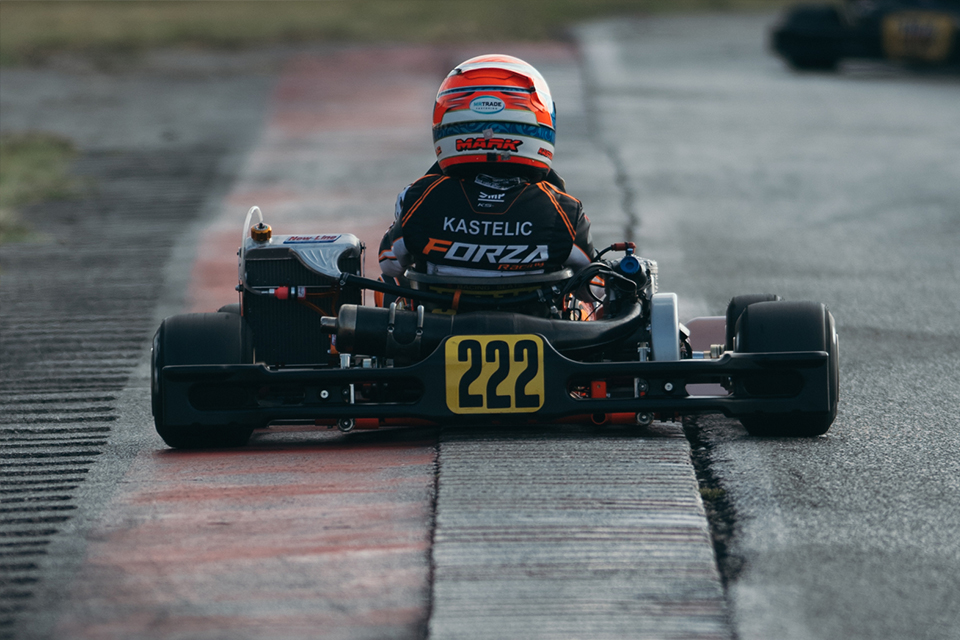 Kastelic aims at results on Adria circuit