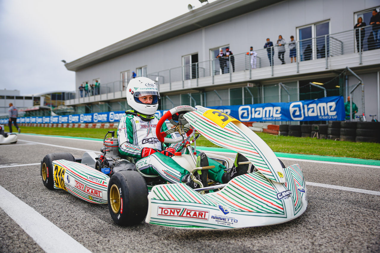 Double podium for Gamoto in Adria