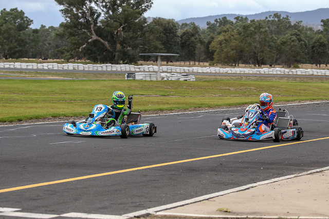 Youngest ever Junior Vortex winner at Australian Kart Championship