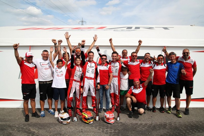 BirelArt dominates the WSK, two triumphs at the Open Cup