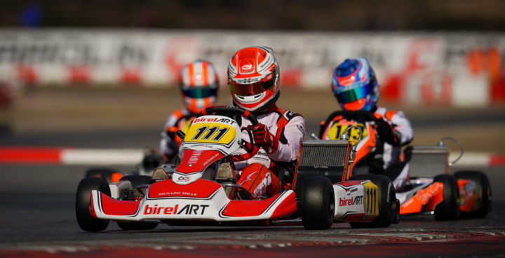 A KZ2 podium to start the WSK Super Master