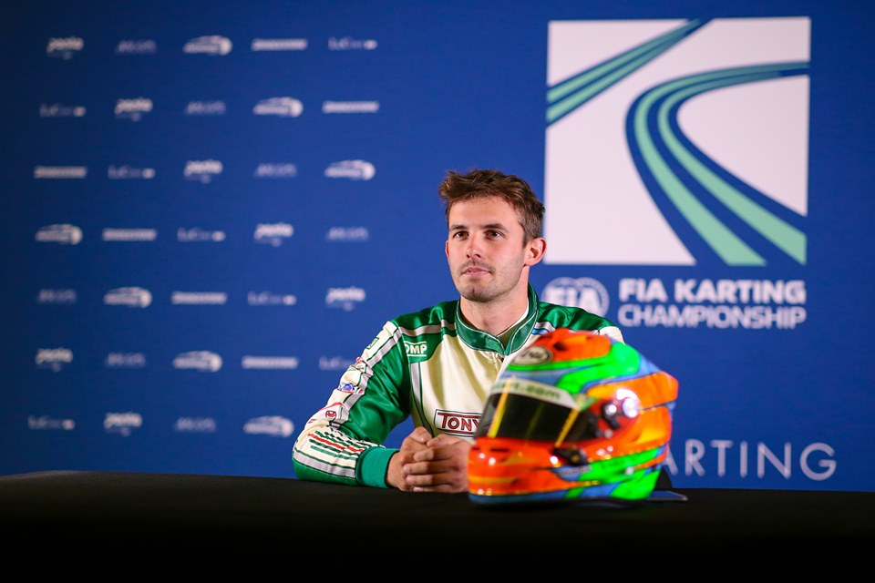 Matteo Viganò leaves Tony Kart