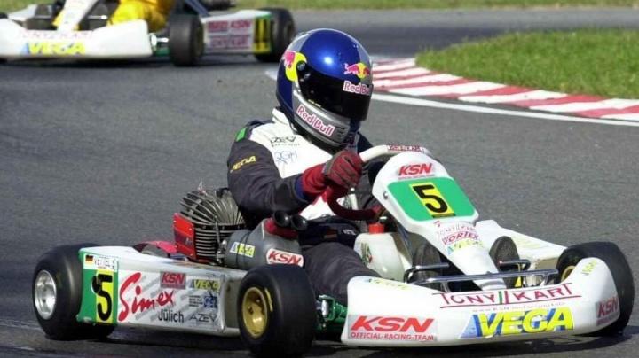 That time Sebastian Vettel met Davide Forè in Parma