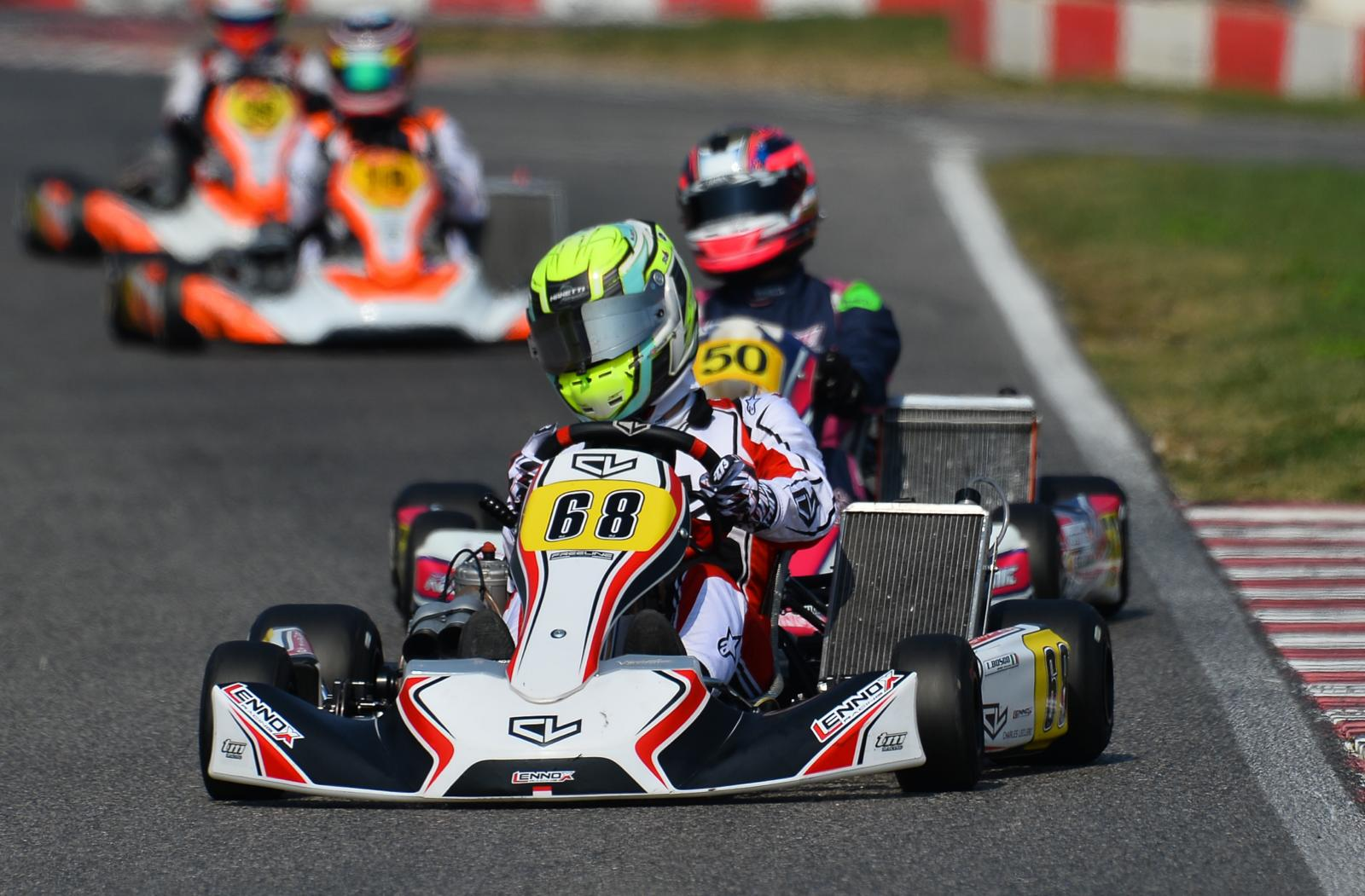 Luca Bosco will be present at the International Super Cup KZ2