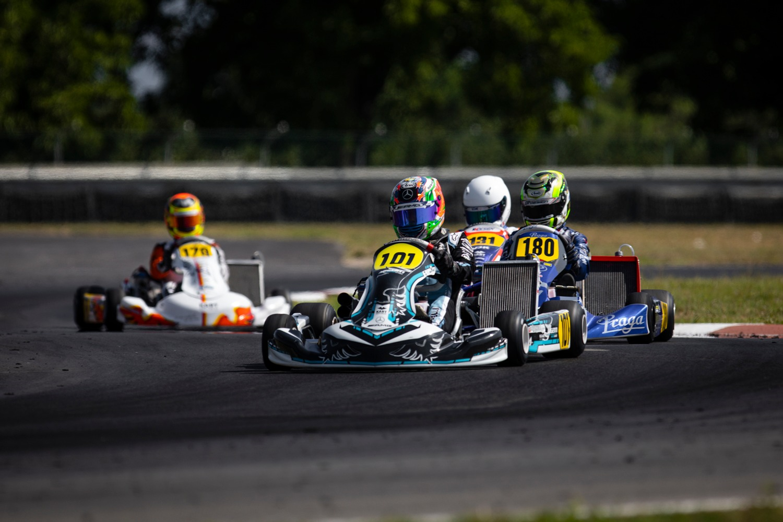 FIA Karting Euro, Sarno - Antonelli and Egozi dominate the qualifying session