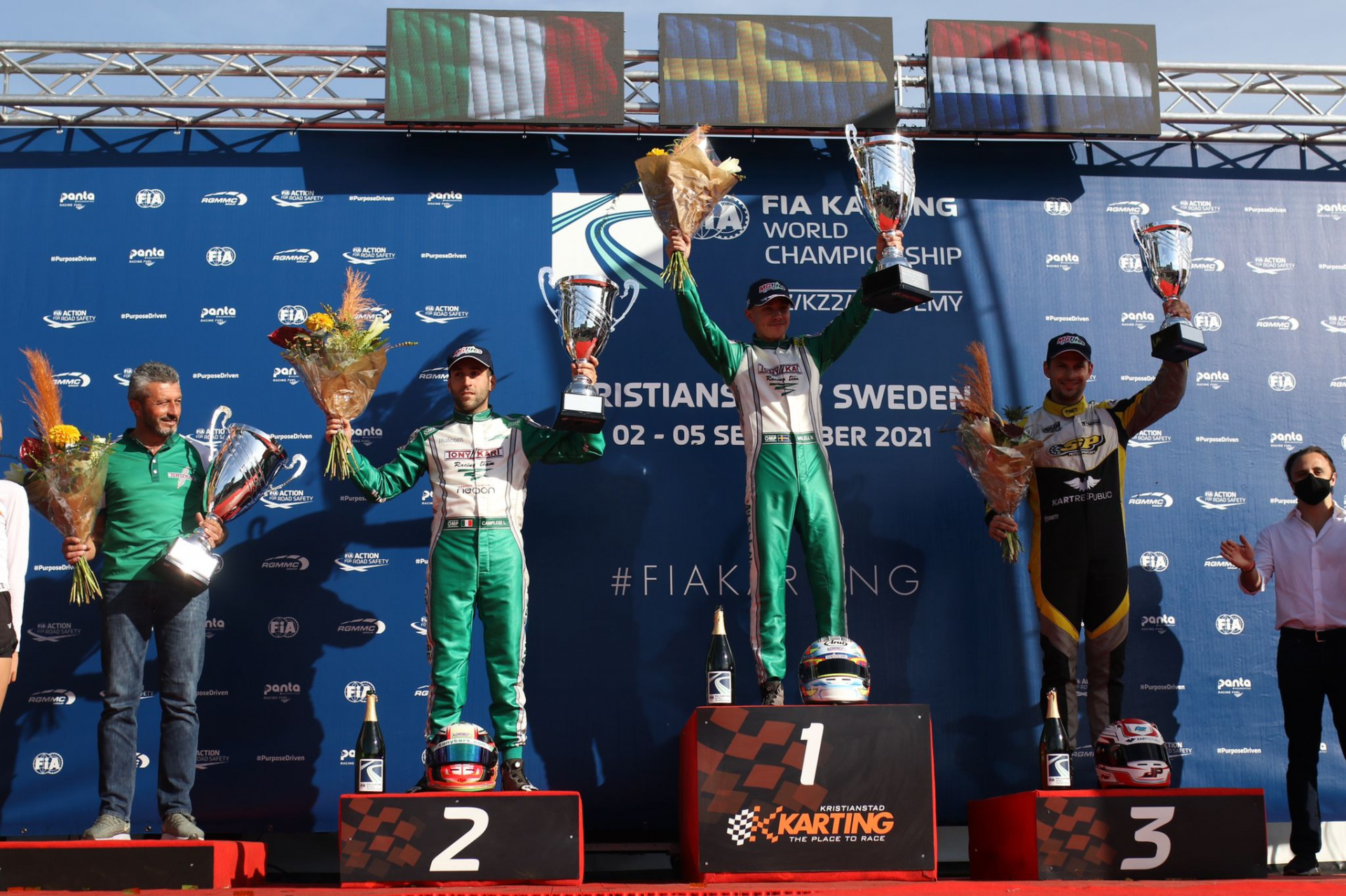 FIA World Championship KZ/KZ2 - Milell and Travisanutto the new Champions